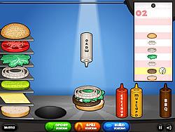 Papa's Burgeria game