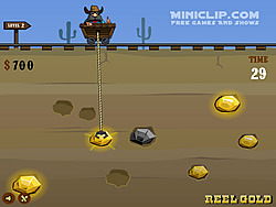 Reel Gold Miniclip game