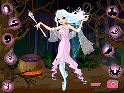 Jogar jogo grátis Good Witch Makeover