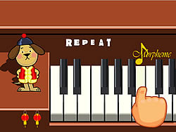 Piano Pooch game