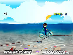Ben 10 Motocross Under the Seaゲーム