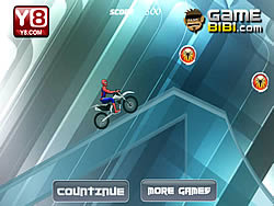 Larong Spiderman Ice Bike