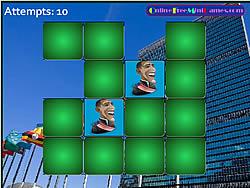 Pair Mania - Politics game