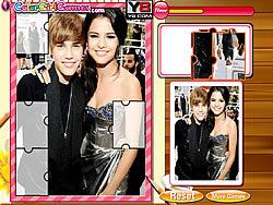 Justin Bieber And Selena Gomez Puzzle