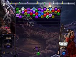 玩免费游戏 Goth BubbleJam