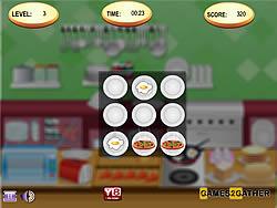 Kitchen Memory game