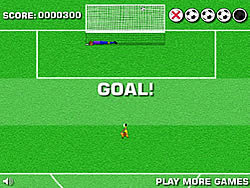 Penalty Shot Challenge game