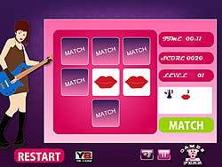 Girls Perfect Match game