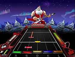 Играть бесплатно в игру Santa Rockstar 4