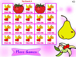 jeu Fruit Matching Pairs