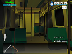 Mystery Rail Train لعبة