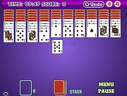 Jogar jogo grátis Spades Spider Solitaire 2