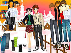 Jouer au jeu gratuit Dress Up Sweet Couple
