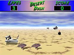 3D Desert Dash
