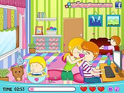 無料ゲームのBabysitter's Love Storyをプレイ