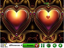 Happy Love 5 Differences game