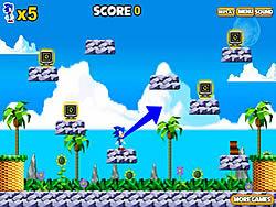 Juega al juego gratis Sonic Spin Break