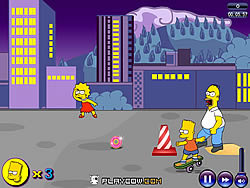 The Simpsons spel