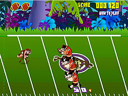 gra Taz Football Frenzy