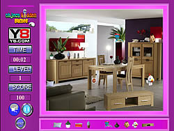 Kids Room Hidden Objects game
