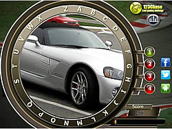 Fast Cars Hidden Alphabets game
