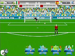 Euro 2012 Free Kick oyunu