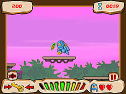 Panik in Platform Peril game