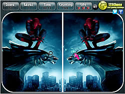 The Amazing Spiderman - Spot the Difference