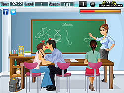 Classroom Kissing Game