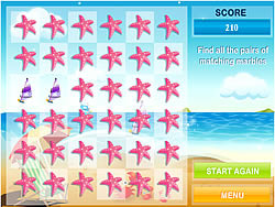 Summertime Concentration game