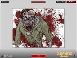 Zombie Puzzle Game