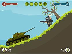 Juega al juego gratis Russian Tank vs Hitler's Army