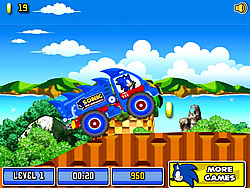 Sonic The Hedgehog Xtreme Truck
