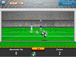 Goalkeeper Premier game