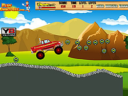jeu Ben10 Monster Truck