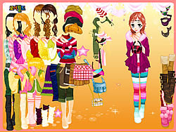 Wonder Dress up game