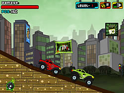 Ben10 Vs Rex Truck Champ game