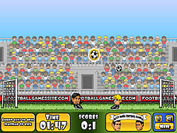 Big Head Football game