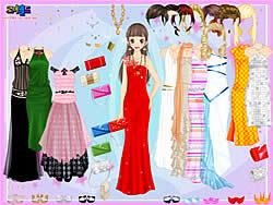 Party Dress-up game