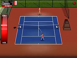 無料ゲームのStick Tennisをプレイ