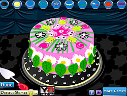 Juego Flower Cake