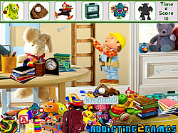 Kids Cartoon Room Hidden Object Spiel