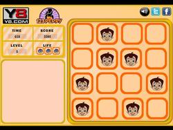 Chhota Bheem Memory Tiles game