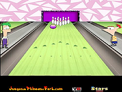 Phineas and Ferb Bowling oyunu