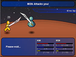 AIM vs MSN game