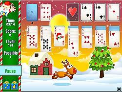 Spielen Sie das Gratis-Spiel  Santa Solitaire