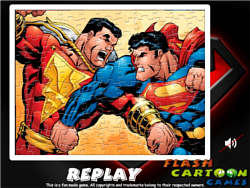 Superman Sort My Jigsaw игра