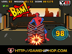 gra Spiderman's Power Strike