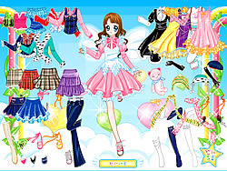 Gioca gratuitamente a Air Fairy Dress up