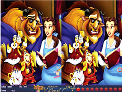 Belle and Beast - 10 Differences